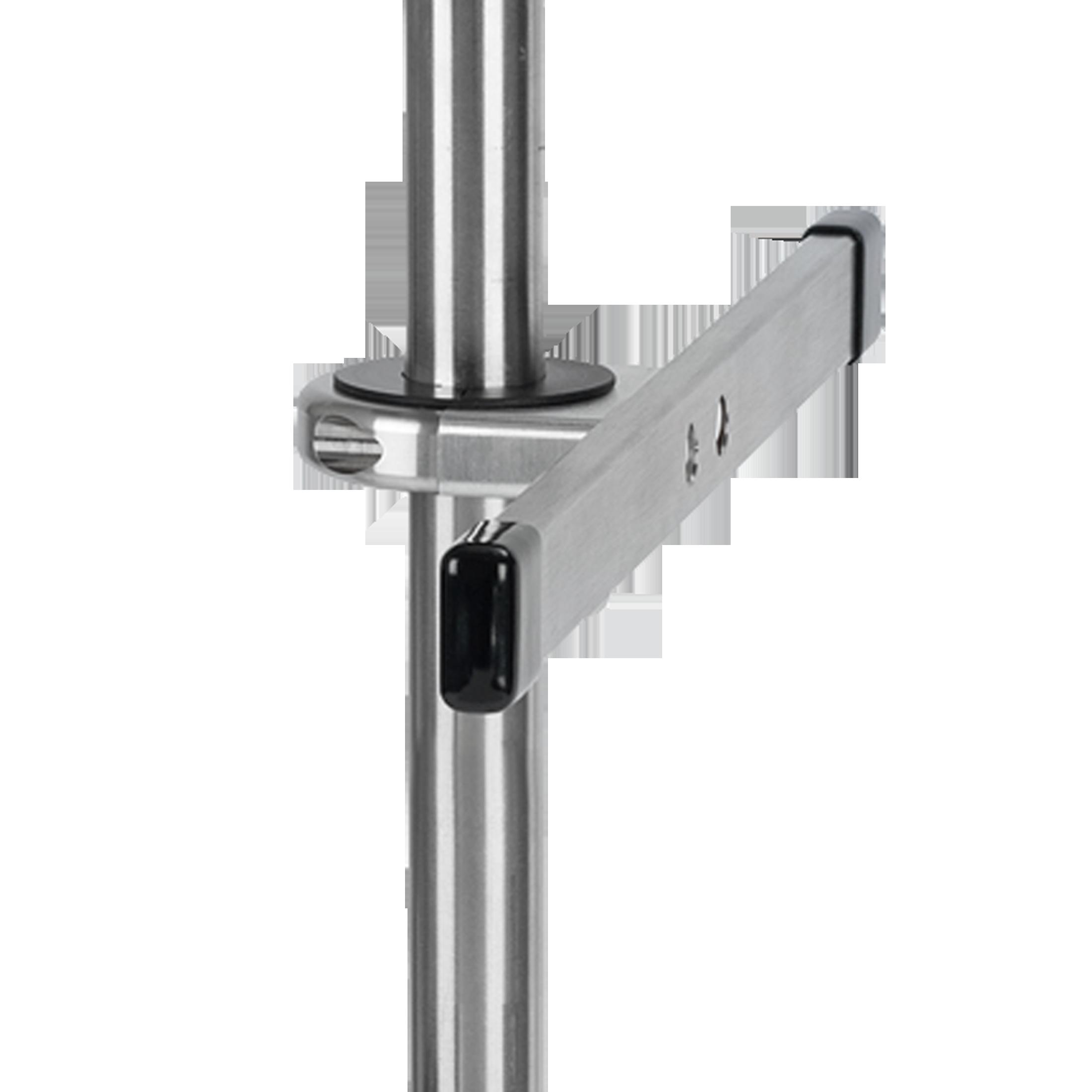 Normschiene mit Halterung für Rohr-Ø 25 mm