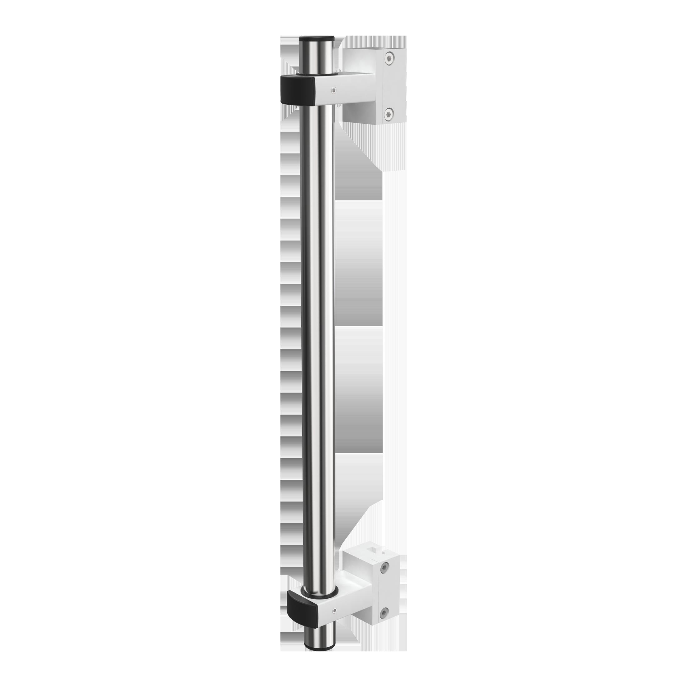 Pumpentragsystem für Vertikalschiene 25 x 10 mm