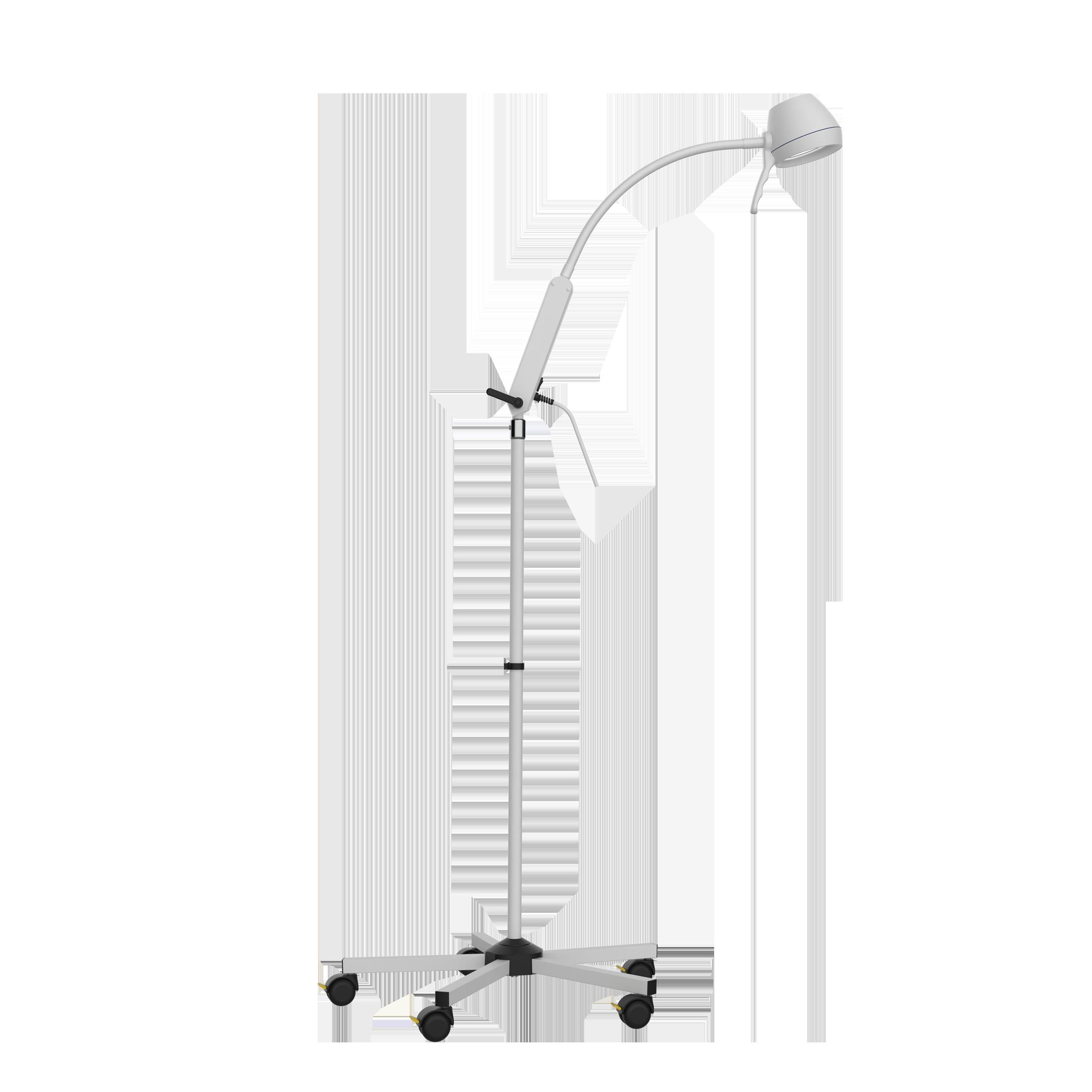Mobile LED-Untersuchungsleuchte