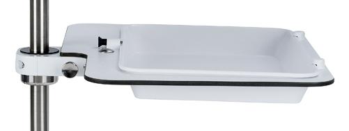 Klappbare Melaminschale für Rohr-Ø 25 mm